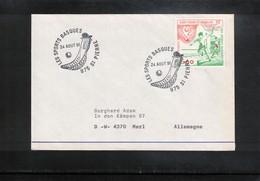 St.Pierre And Miquelon 1991 Basque Sports Interesting Cover - Briefe U. Dokumente