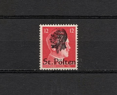 Österreich 1945 Lokalausgaben St.Pölten Postfrisch - 1945-60 Ongebruikt