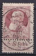 """126-  COB/OBP 77 (o)    """" Ixelles/Elsene 1"""" +2 - 1893-1900 Schmaler Bart"""