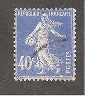 Perforé/perfin/lochung France No 237 C Crédit Lyonnais (2) - Francia