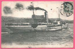 Oran - Compagnie Générale Des Transports Maritimes Russie - Paquebot - Bateau - Ferry - Edit. EL - 1907 - Oran