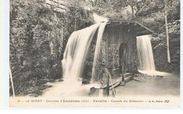 CPA Ambérieu (01) Le Bugey Environs D'Ambérieu Vareille Cascade Des Balmeaux Ecrite En 1917 - Other Municipalities
