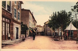 CPA - N - ISERE - PEAGE DE ROUSSILLON - RUE DE CONDRIEU - Francia