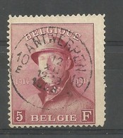 OCB 177 Met Zeer Mooie Stempel - 1919-1920 Trench Helmet