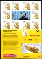 BRD - Mi MH 117 = 10x 3521 Gestanzt - ** Postfrisch - 270C     Ernst Barlach - Ausgabe 02.01.2020 - Postzegelboekjes
