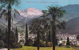 AK Motiv Aus Gries Mit Bozen Und Rosengarten - 1910 (46369) - Bolzano