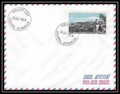 1828 N° 14 Fdc PORT AUX FRANCAIS KERGUELEN 1° JOUR 21/1/1968  TAAF Antarctic Terres Australes Lettre Cover - Storia Postale