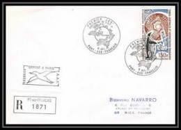 1831 N°37 Recommandé FDC 9/10/1974 TAAF Antarctic Terres Australes Lettre (cover) - Storia Postale