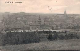 Esch  Panorama Gare - Esch-Alzette