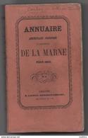 Annuaire Administratif Statistique Historique De La Marne De 1865 ;historique Des Communes Du Canton De Ville Sur Tourbe - Champagne - Ardenne