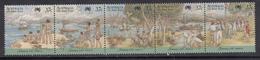 Australia MNH Michel Nr 1074/78 From 1988 / Catw 3.00 EUR - 1980-89 Elizabeth II