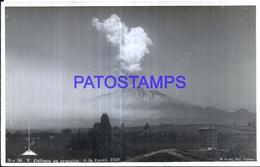 127730 CHILE CALBUCO VOLCANO VOLCAN EN ERUPCION POSTAL POSTCARD - Chile