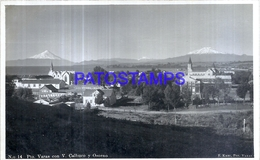 127731 CHILE PUERTO VARAS & VOLCAN VOLCANO CALBUCO Y OSORNO  POSTAL POSTCARD - Chile