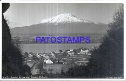 127734 CHILE PUERTO VARAS VOLCAN CALBUCO POSTAL POSTCARD - Chile