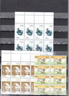 Stamps SUDAN 2019 MAHATMA GANDHI INDIA BIRTH 150 ANNIV. MNH BLOCK OF 8 SETS - Sudan (1954-...)
