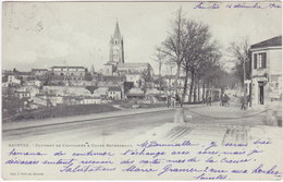 17. SAINTES. Couvent De Chavagnes & Cours Reverseaux - Saintes