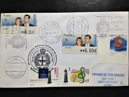 """Spain, Circulated Cover, """"Principe De Asturias Prize"""", Barcelona, 2005 - FDC"""