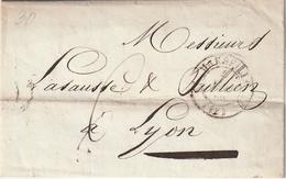 Frankreich / 1830 / Vorphila-Brief K2 MARSEILLE (4106) - Poststempel (Briefe)