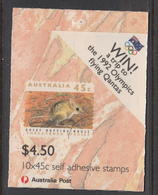 Australia MNH Michel Nr MH-73 From 1992 / Catw 9.00 EUR - Booklets