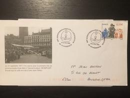 Dunkerque 2008 90 éme Anniversaire De L'armistice 1914 1918 Place Jean Bart Rumpler - Marcophilie (Lettres)