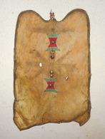 BOUCLIER TOUAREG ( AHRER ) , CIRCA 1890,  PIÈCE RARE, HOGGAR, AFRICAIN, SAHARA, AFRICA TUAREG SHIELD - Art Africain