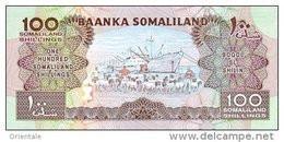 SOMALILAND P.  5d  100 S  2002  UNC - Somalië