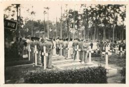 VIETNAM INDOCHINE  ENTERREMENT  PHOTO  8.50 X 6 CM - Luoghi