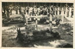VIETNAM INDOCHINE  ENTERREMENT CORTEGE FUNERAIRE  PHOTO  8.50 X 6 CM - Plaatsen