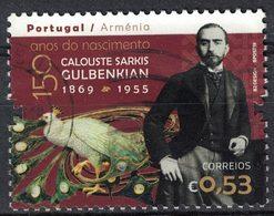 Portugal 2019 Oblitéré Used Calouste Sarkis Gulbenkian Philanthrope Financier Arménien SU - France