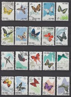 PR CHINA 1963 - Butterflies CTO COMPLETE! - 1949 - ... Volksrepublik