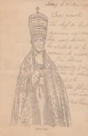 Artist Image Pope Leo XIII Portrait, C1900 Vintage Postcard - Popes