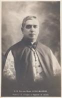 Luigi Mazzini Bishop Of Anagni And Signore Of Acuto, C1920s Vintage Real Photo Postcard - Christianity