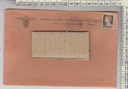 Storia Postale 1933 Busta Aero Club Alessandro Guidoni - 1900-44 Victor Emmanuel III