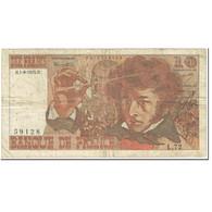 France, 10 Francs, Berlioz, 1974, 1974-08-01, TB, Fayette:63.6, KM:150a - 1962-1997 ''Francs''