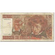 France, 10 Francs, Berlioz, 1974, 1974-10-03, TB, Fayette:63.7b, KM:150a - 1962-1997 ''Francs''