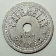 Café Belin - Avec Primes - Bon Pour 1 Kg De Primes - Monetari / Di Necessità