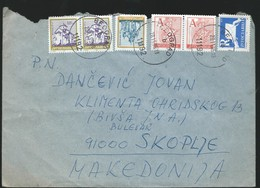Yugoslavia - Letter 1995 - Definitive Issues Surcharged Stamps - Covers & Documents