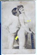 PHOTO ALBUMINEE SUR PAPIER CARTE POSTALE DEBUT XXeme EROTIQUE  PORNO FEMININ  NU NUDE Dim.:9.00x13.80cm VOYEZ SCAN - Belleza Feminina (...-1920)
