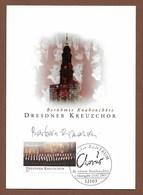 BRD 2003 Mi.Nr. 2319,Berühmte Knabenchöre - Dresdner Kreuzchor - Maximum Card - Berlin Zentrum Erstausgabetag 13.02.2003 - Cartas Máxima