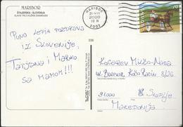 Slovenia Maribor Postcard 2000 - Nice Stamp - Slovenia