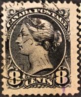 CANADA 1893 - Canceled - Sc# 44 - 8c - 1851-1902 Règne De Victoria