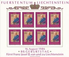 Zumstein 843 / Michel 903 Bogen-Serie Einwandfrei Postfrisch/** - Blocks & Sheetlets & Panes