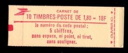 France Carnet 2220 C5 Fermé Conf 5 - Usage Courant