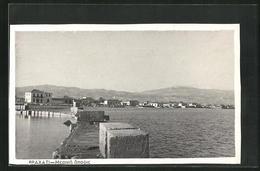 AK Vrachanti, Panoramablick Mit Hafenmauer - Greece