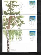 Finland 2002 Trees FDC - Bäume