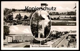ÄLTERE POSTKARTE BERLIN REINICKENDORF AM SCHÄFERSEE AROSER ALLEE RESIDENZSTRASSE Ansichtskarte AK Cpa Postcard - Reinickendorf