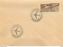 Russie Russia Lettre Cover Avion Aviation - 1923-1991 URSS