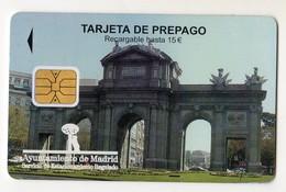 ESPAGNE MADRID CARTE PARKING - Espagne
