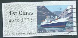GROSBRITANNIEN GRANDE BRETAGNE GB POST&GO 2018  R.M.HERITAGE MAIL BY SEA: RMS ST HELENA, 1990 FCup To 100g SG FS212 MI A - Great Britain