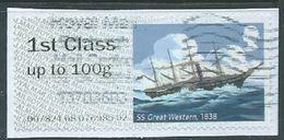 GROSBRITANNIEN GRANDE BRETAGNE GB POST&GO 2018  R.M.HERITAGE MAIL BY SEA: SS GREAT WESTERN, 1838 FCup To 100g SG FS208 M - Great Britain